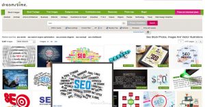 Search for stock images with dreamstime