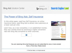 2014 - The Power of Bing Ads: Zelf Insurance