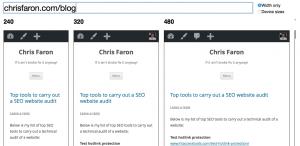 mattkersley Responsive Web Design Testing Tool