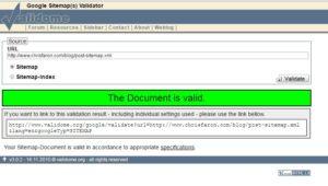 Google XML Sitemap(s) Validator