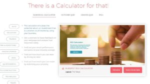 Calculator for your website