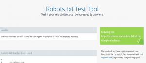 Free robots.txt checker