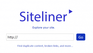 Siteliner tool to find duplicate content, broken links