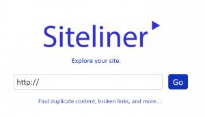 Siteliner tool to find duplicate content, broken links